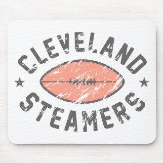 Fútbol de la fantasía de los vapores de Cleveland Alfombrillas De Ratones