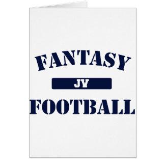 Fútbol de la fantasía del JV Tarjetón