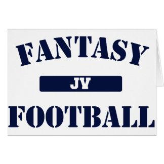 Fútbol de la fantasía del JV Felicitaciones