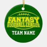 Fútbol de la fantasía - regalo divertido de los ornamento de reyes magos
