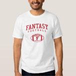 Fútbol de la fantasía (simple) playera