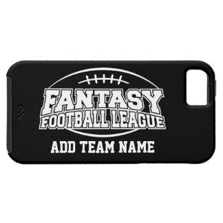Fútbol de la fantasía - su logotipo del equipo iPhone 5 funda