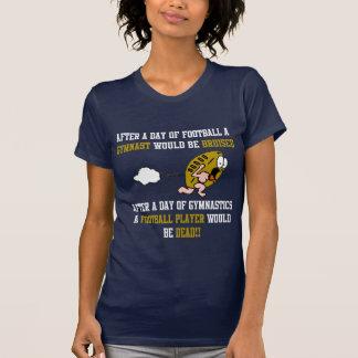 Fútbol de la gimnasia camiseta