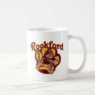 Fútbol de la juventud de los tigres de ROCKFORD Tazas