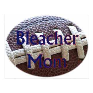 Fútbol de la mamá del blanqueador postal