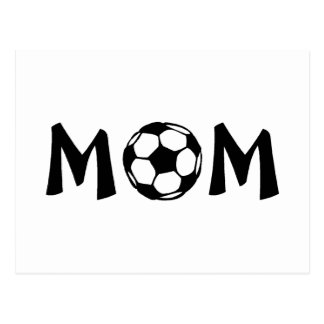 Fútbol de la mamá postal