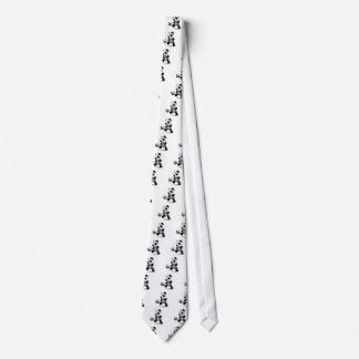 fútbol de la panda del bebé 3d corbatas personalizadas