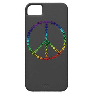 Fútbol de la paz iPhone 5 protector