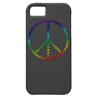 Fútbol de la paz iPhone 5 Case-Mate carcasa