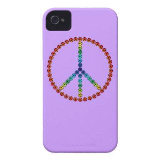 Fútbol de la paz Case-Mate iPhone 4 protector