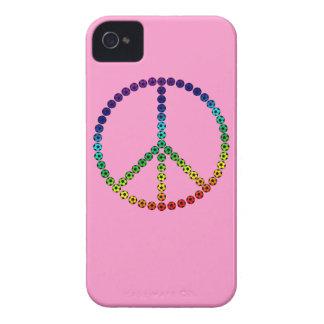 Fútbol de la paz Case-Mate iPhone 4 cobertura