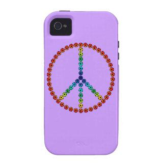 Fútbol de la paz vibe iPhone 4 funda