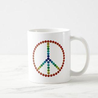 Fútbol de la paz taza