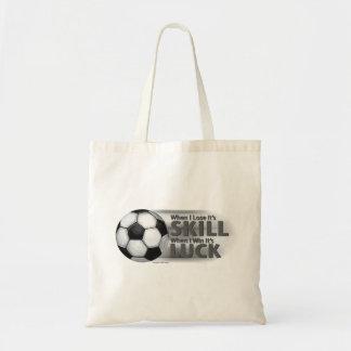 Fútbol de la suerte del triunfo de la habilidad de bolsa tela barata
