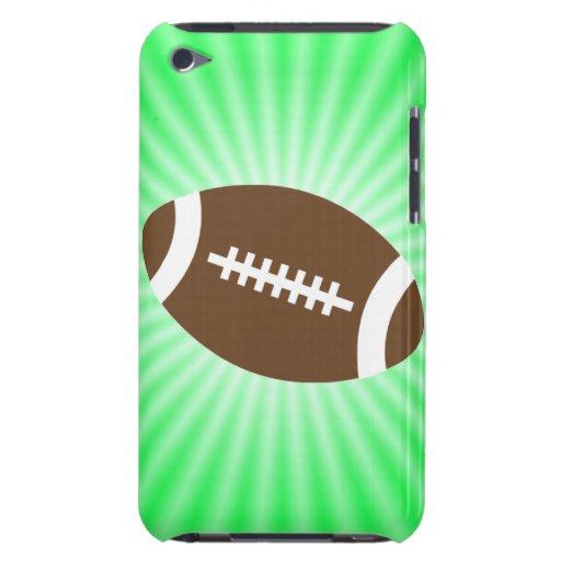 Fútbol de la verde lima iPod touch Case-Mate cobertura