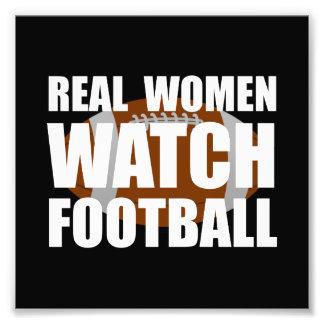 Fútbol de las mujeres reales cojinete