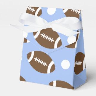 Fútbol de los azules cielos, polca blanca Dots.gif Caja Para Regalo De Boda