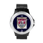 Fútbol de los E.E.U.U. del diamante artificial Reloj