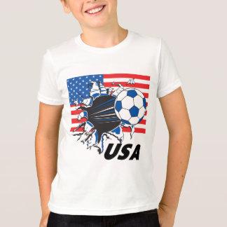 Fútbol de los E.E.U.U. del equipo Poleras