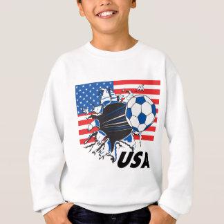 Fútbol de los E.E.U.U. del equipo Remera