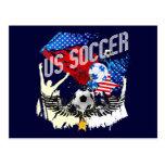 Fútbol de los E.E.U.U. - Estados Unidos fútbol de Postal