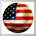 Fútbol de los E.E.U.U. Impresiones
