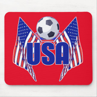 Fútbol de los E.E.U.U. Mousepad