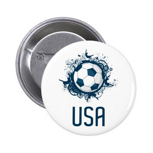 Fútbol de los E.E.U.U. Pins