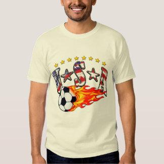 Fútbol de los E.E.U.U. Polera