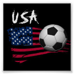 Fútbol de los E.E.U.U. Posters