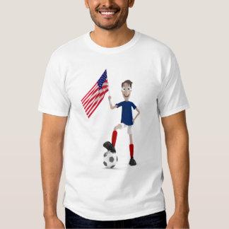 Fútbol de los E.E.U.U. Remera