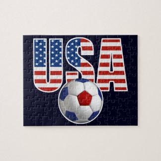 Fútbol de los E.E.U.U. Rompecabeza