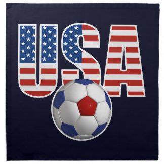 Fútbol de los E.E.U.U. Servilletas