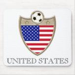 Fútbol de los E.E.U.U. Tapete De Ratones