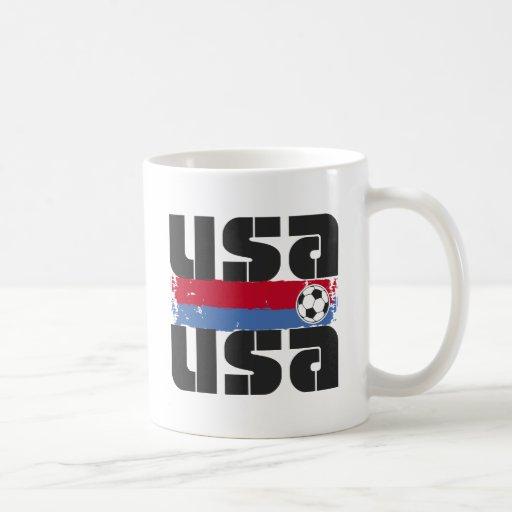 Fútbol de los E.E.U.U. Taza