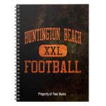 Fútbol de los engrasadores de Huntington Beach Libretas