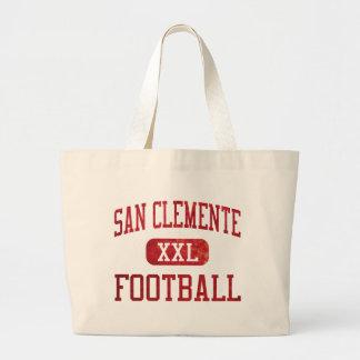 Fútbol de los tritones de San Clemente Bolsas Lienzo