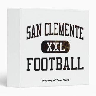 """Fútbol de los tritones de San Clemente Carpeta 1 1/2"""""""