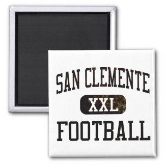 Fútbol de los tritones de San Clemente Imán Cuadrado