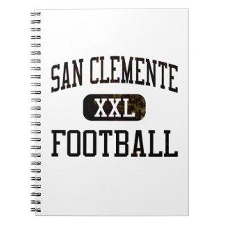 Fútbol de los tritones de San Clemente Libros De Apuntes Con Espiral