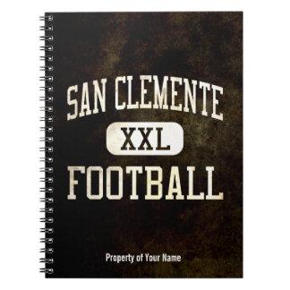 Fútbol de los tritones de San Clemente Libro De Apuntes Con Espiral