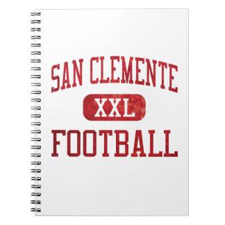 Fútbol de los tritones de San Clemente Cuaderno