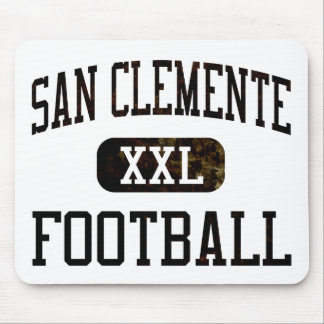 Fútbol de los tritones de San Clemente Mouse Pad