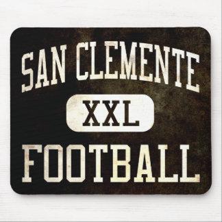 Fútbol de los tritones de San Clemente Mousepad