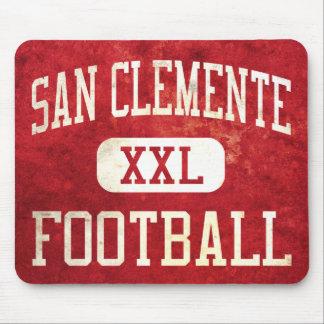 Fútbol de los tritones de San Clemente Alfombrillas De Ratón