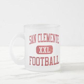 Fútbol de los tritones de San Clemente Taza De Cristal