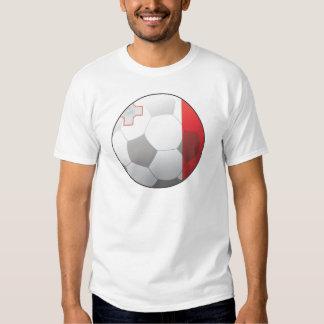 Fútbol de Malta Polera
