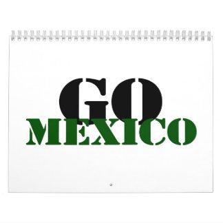 Fútbol de México Calendarios