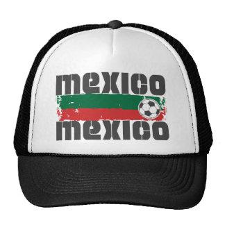 Fútbol de México Gorros Bordados