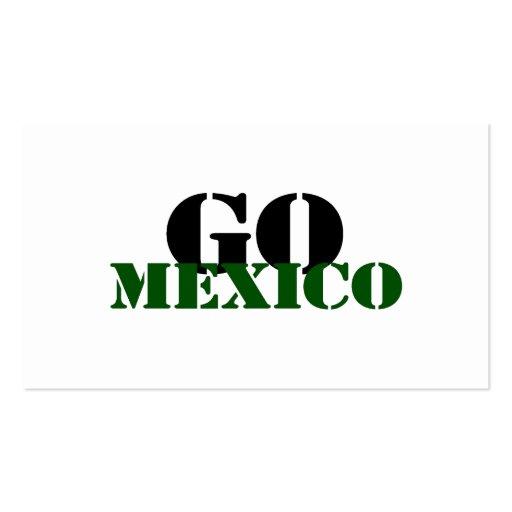 Fútbol de México Plantilla De Tarjeta De Visita